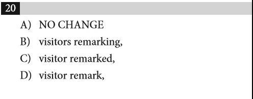 SAT语法 | 易错题大合集,临考前看看,让你直击1500+_图18